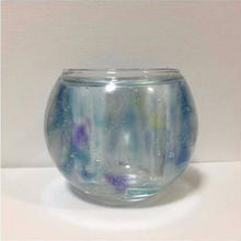 Blue Candle Holder (CORON)