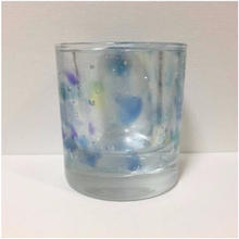 Blue Candle Holder (MARU)