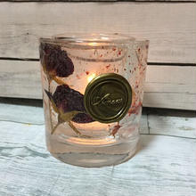 Flower Glass Candle Holder(Rose Flower)