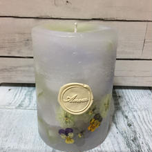Flower Candles (viola)