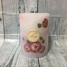 Flower Candle (White&Pink)