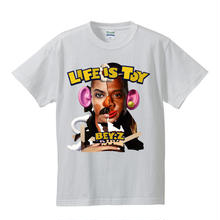 SS TEE  LIFE IS TOY / WHITE