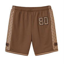 SUPREME  MONOGRAM MESH SHORT / BROWN