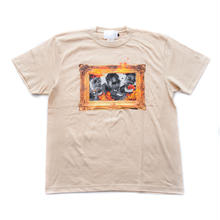SS TEE CULTURE LIFE / BEIGE