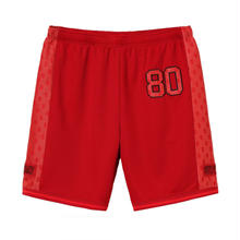 SUPREME  MONOGRAM MESH SHORT / RED