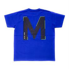 """M+RC NOIR BIG """"M"""" TEE / BLUE"""