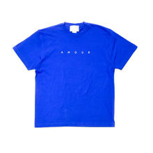 SS TEE AMOUR / ROYAL BLUE_WHITE