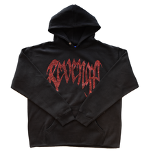 "REVENGE  ""SHINE"" Diamond Black Hoodie"