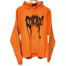 "REVENGE ""KILL"" Hoodie / ORANGE"