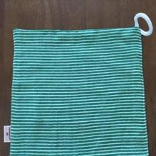 green ボーダー handkerchief