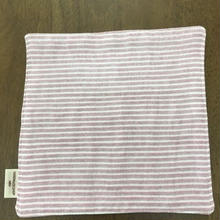 pink ボーダー mini handkerchief