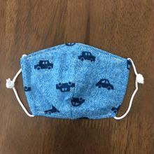 デニム風 car baby mask