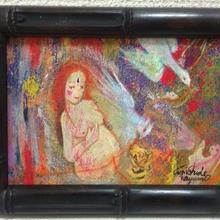 愛の広がりプロジェクト第2弾 No.6【聖なる妊婦さんの絵】