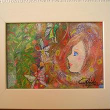 愛の広がりプロジェクト第2弾 No.5【妖精とソウルメイトの絵】