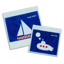 Zipper Bag ジッパーバッグ (マリン) 雑誌VERYコラボ商品