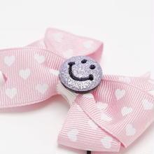 Smiley Heart Pink Elastic スマイリーハートピンクゴム