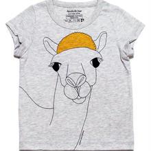 キッズ用 らくだの「ボニー」オーガニックコットンTシャツ