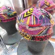 ウズベキスタン ウズベク族UZBEK WOMEN'S CAP60刺繍女性用帽子52H10cm