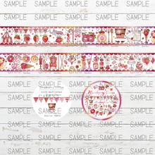 【6月販売予定】Strawberry Circus☆マスキングテープ