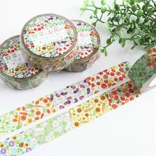 野菜とお花のつぎはぎ☆マスキングテープ