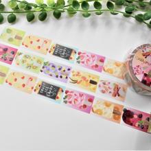 【再販】フルーツアイスキャンディ☆マスキングテープ