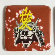スクエア缶バッチ 直江兼続/伊達政宗