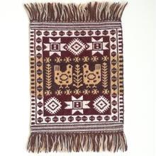 ヤノフ村の織物 タペストリー 向かい合う鳥 #1267
