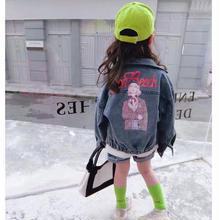 ★バックプリントデニムジャケット★