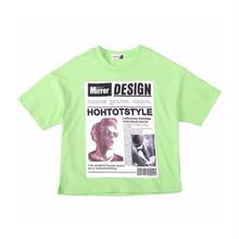 ★DESIGNプリントTシャツ★2カラー