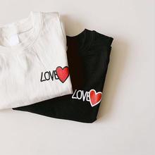 ★LOVE♡Tシャツ★2カラー