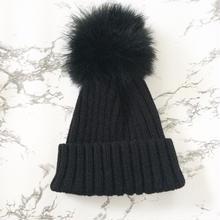 (即納)ぽんぽんニット帽