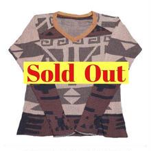 KAPITAL(キャピタル) ネイティブシャツ