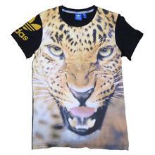adidas(アディダス) 豹プリントTシャツ