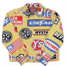 HYSTERIC  GLAMOUR(ヒステリックグラマー) 総柄 ジッパー ブルゾン
