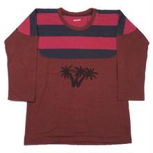 KAPITAL(キャピタル) 七分袖 ナンバリング Tシャツ