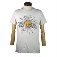 REMI RELIEF(レミレリーフ) ユーズド加工サンフランシスコロゴTシャツ
