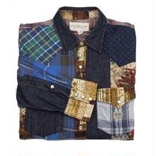 DENIM & SUPPLY(デニムアンドサプライ) パッチワークシャツ  3
