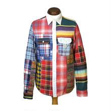 DENIM & SUPPLY(デニムアンドサプライ) パッチワークシャツ  2