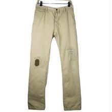 Nudie Jeans(ヌーディージーンズ) ダメージ加工 チノパンツ