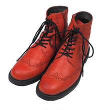 CAMPER(カンペール) サイドジッパー 8ホール ブーツ