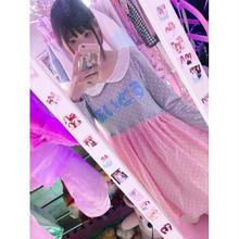 あいどるレース襟切り替えドレス/魔法都市東京