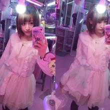 フリル切り替えドレス/魔法都市東京