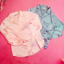 サテンシャツ/select