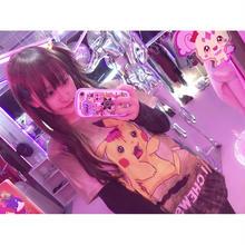 ゾンビ電気ネズミ総柄Tシャツ/select