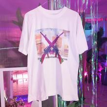 ピストルTシャツ/used