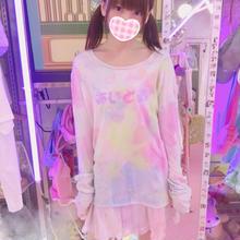 オーロラ染めあいどるロンT/moon prism power×魔法都市東京