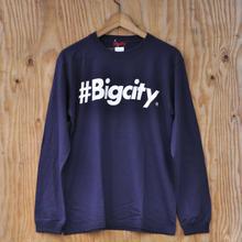 #BigcityLOGO ロンTEE NAVY