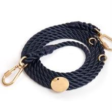 Navy Rope Leash Adjustable