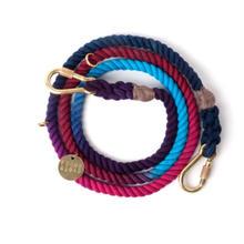 Dark Multi Rope Leash Adjustable