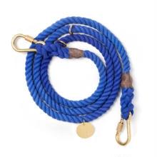 Periwinkle Rope Leash Adjustable